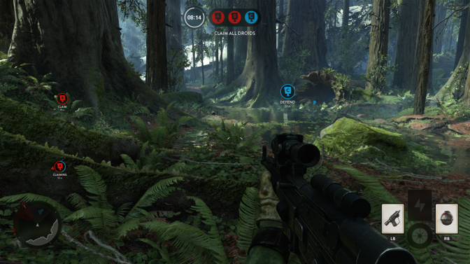 Star Wars Battlefront… Long awaited, kinda meh.